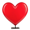 Heart Throb Fiberglass Sculpture