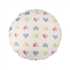 Child's Floor Cushion Hearts Round