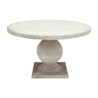 round dining table light gray outdoor square base
