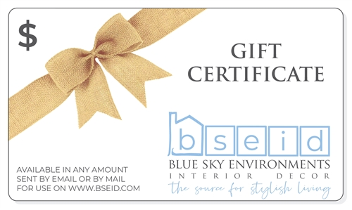 Gift Certificates from BSEID