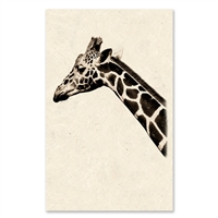 large giraffe photography art framed oversized