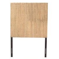 Grass Weave Headboard by Padma's Plantation