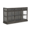 Luxury Designer Curio Display Buffet - Wake - Glass Fronts + Sides