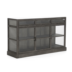 Curio Display Buffet - Wake - Glass Fronts + Sides