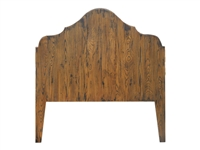 queen headboard wood french stain