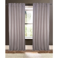 natural tan embroidered brown curtain drapery panels