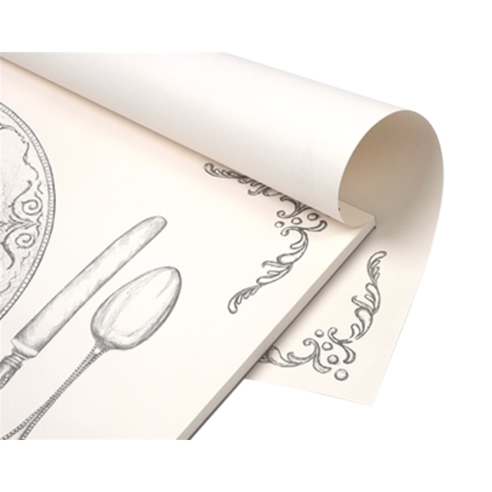 Paper Placemats - Silver Perfect Setting ...  sc 1 st  Bseid & Gold Perfect Setting Paper Placemats   Gold Table Setting Placemat Pad