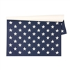 Stars On Blue Paper Placemats - Luxury USA-Made Home Décor | BSEID