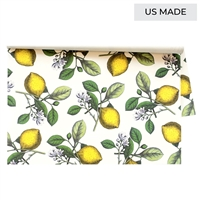 Lemons Placemats Pad By Hester & Cook - Luxury USA-Made Home Décor | BSEID