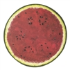 paper placemats sheets disposable watermelon summertime table barbecue red + green fruit