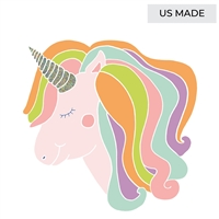 Hester & Cook Die Cut Unicorn Placemats - Unicorn Table Decor