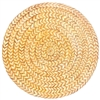 paper table round placemats braided jute straw