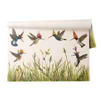 Paper Placemats Hummingbirds Pad