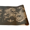 paper table runner black archival flourishes