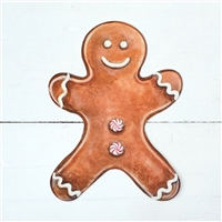 paper place cards table accent gingerbread man