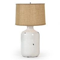 Ceramic Pottery Table Lamp - Olin