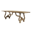 Rectangular Dining Table - Nantes - Raw Wood