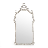 Designer Luxury Wall Hung Mirror - Becky - Carved Wood