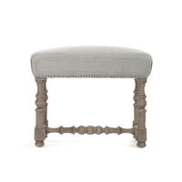 Upholstered Top Vanity Stool - Audrey