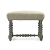 Upholstered Top Vanity Stool - Giselle