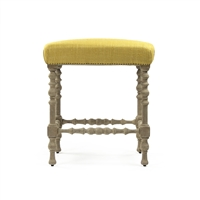 Upholstered Top Counter Stool - Jeanne