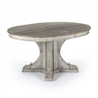 Surf Inspired Terrell Dining Table - Expandable Gray Dining Table