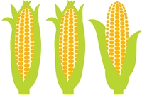 plat du jour green yellow corn on the cob placemats pad 50 sheets paper disposable soy-based ink entertaining recycled BPA free