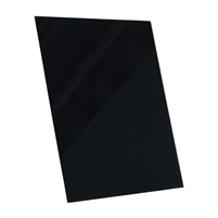 black tempered glass rectangle dry erase board magnetic