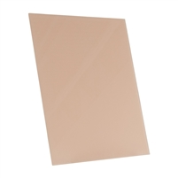 light terra cotta clay tempered glass rectangle dry erase board magnetic