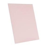light pink tempered glass rectangle dry erase board magnetic