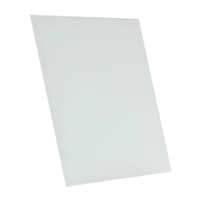white tempered glass rectangle dry erase board magnetic