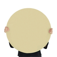 light green round tempered glass dry erase board magnetic