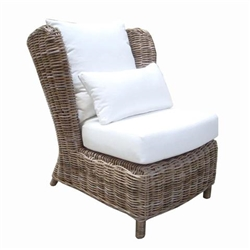 Padma's Plantation Majorca Lounge Chair - Surf Inspired Home Décor