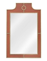 Designer Luxury Wall Hung Mayfield Wood Framed Mirror