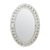 Dianna Oval Mirror