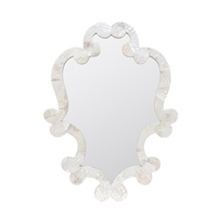 flourished mirror pearl kabibe shell made goods