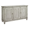 marble top sideboard gray three drawer removable shelf