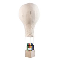 Baby Mobile Hot Air Balloon Natural Plain
