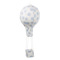 Baby Mobile Hot Air Balloon Blue Stars