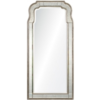 Silver Leaf Mirror by Michael S. Smith