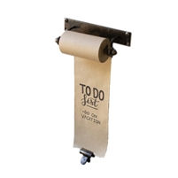 hanging note roll brass clip paper