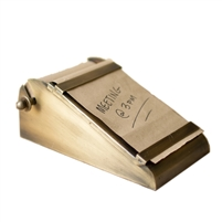 desktop note roll paper antique brass