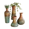 Vases - Two-Toned Copper (set of 4)