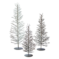 Set of 3 Wire Trees (Antique Brass)