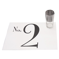 Numbers Placemat Pad