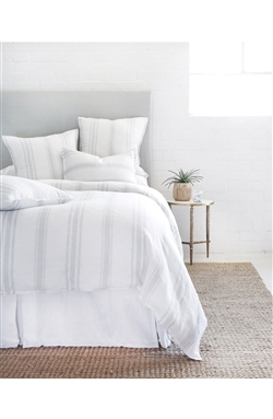 Jackson Bedding Collection (White/Ocean) by Pom Pom at Home