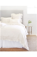 Luxury Designer Charlie Cream Bedding Collection by Pom Pom at Home