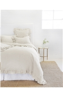 Luxury Designer Charlie Flax Bedding Collection by Pom Pom at Home