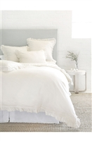 Luxury Designer Mathilde Cream Bedding Collection by Pom Pom at Home