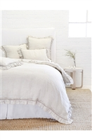 Luxury Designer Mathilde Flax Bedding Collection by Pom Pom at Home